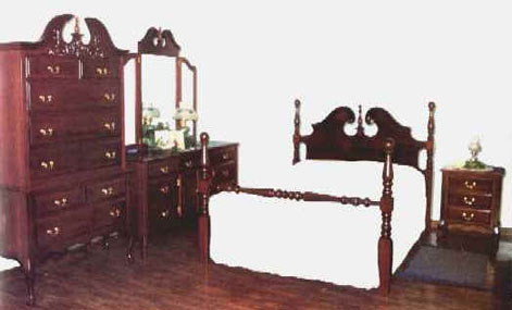 queen anne bedroom furniture